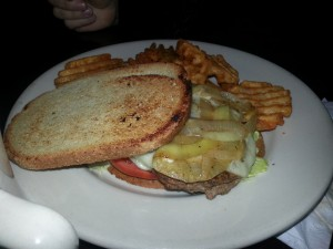 Here is the best burger I think I've ever had, the Patty Melt!