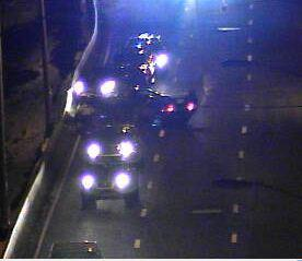 Rollover accident on I-95