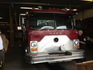 1982 Mack fire engine went on its final call for service in Bridgeport