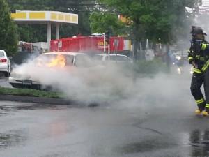 cvs car fire