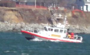 140315 Milford rescue boat near Eveningside 2