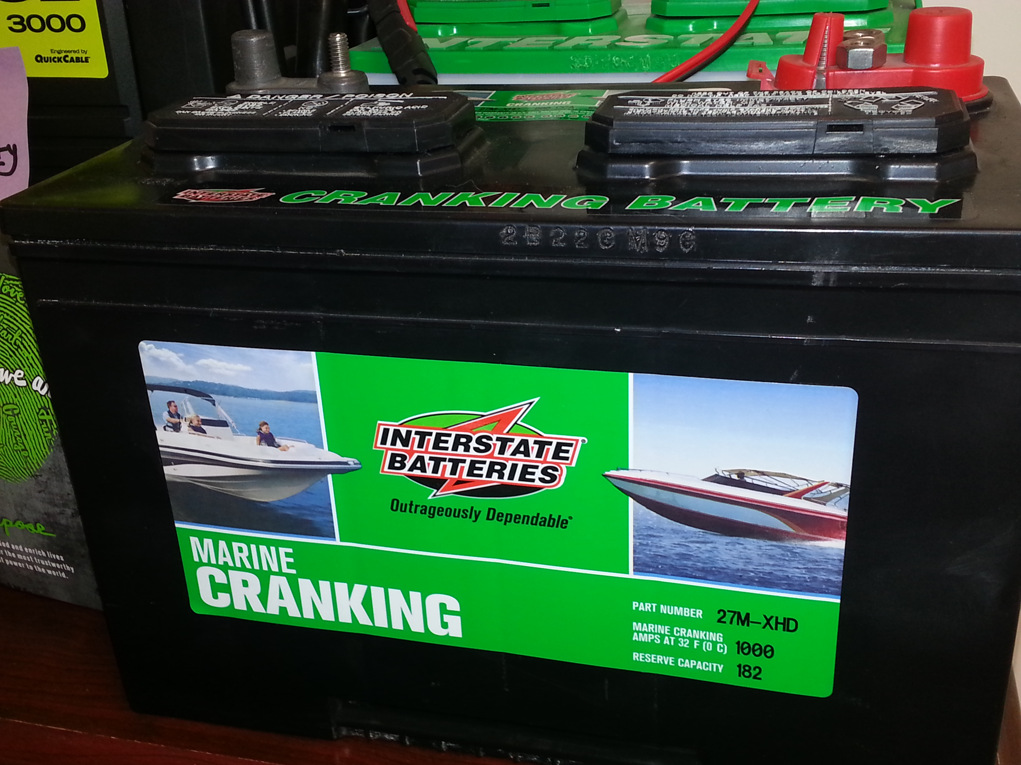 Interstate Deep Cycle Marine Battery >> Marine Batteries Explained Cranking Or Deep Cycle Doingitlocal