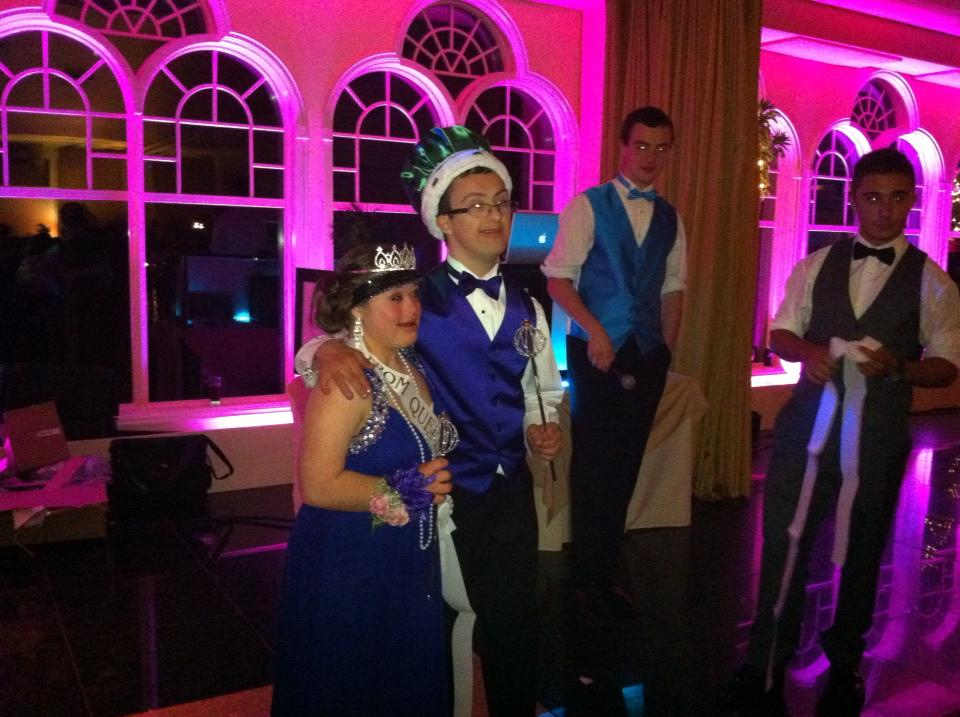 Norwalk Prom King and Queen