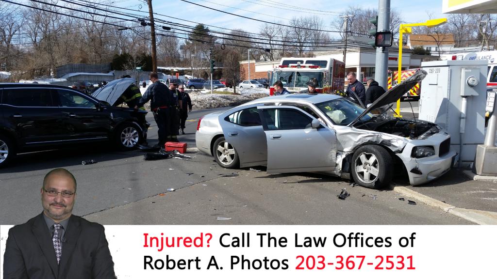 Fairfield Beach Road Car Crash