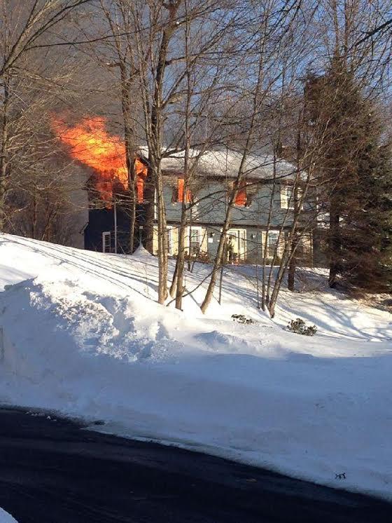 Monroe House Fire