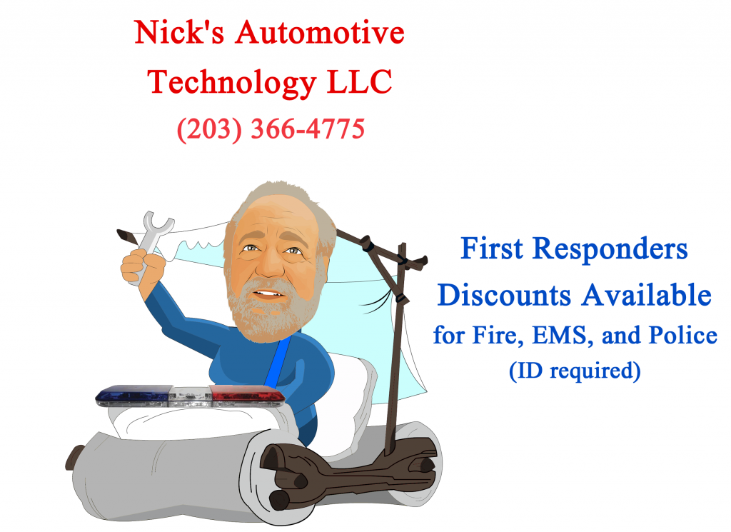 Nick Flintsontone ad first responders