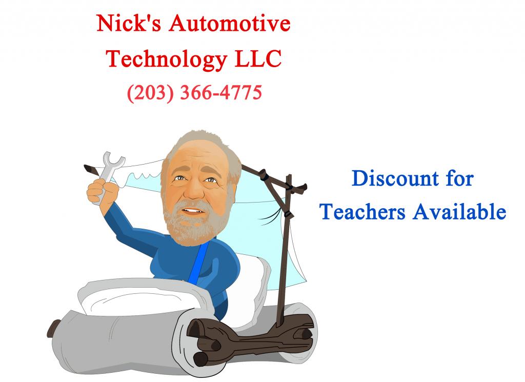 Nick Flintsontone ad teachers