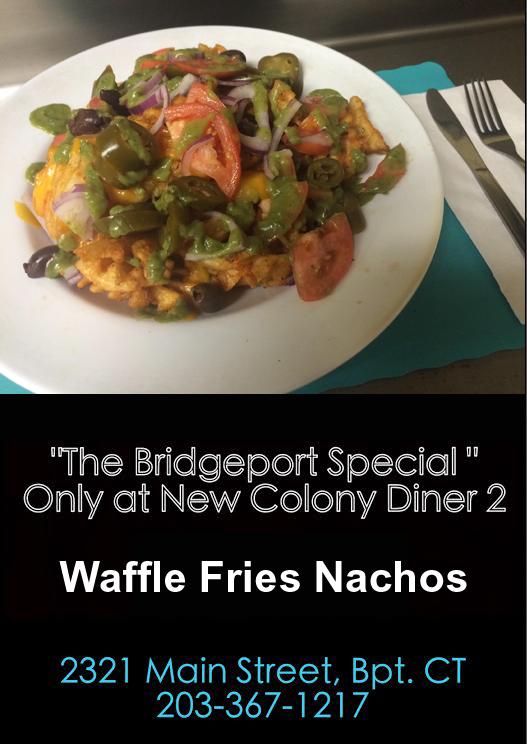 Waffle Fries Nachos