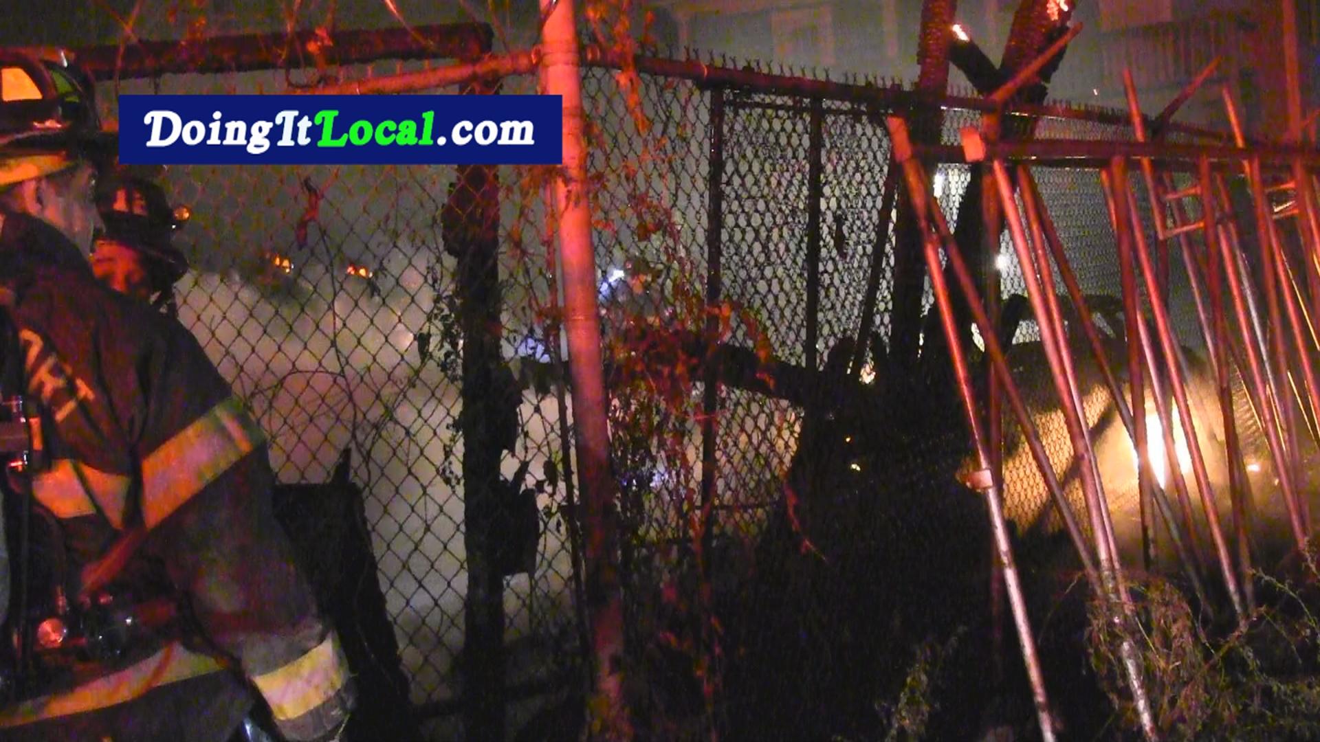Bridgeport News: Garage Fire