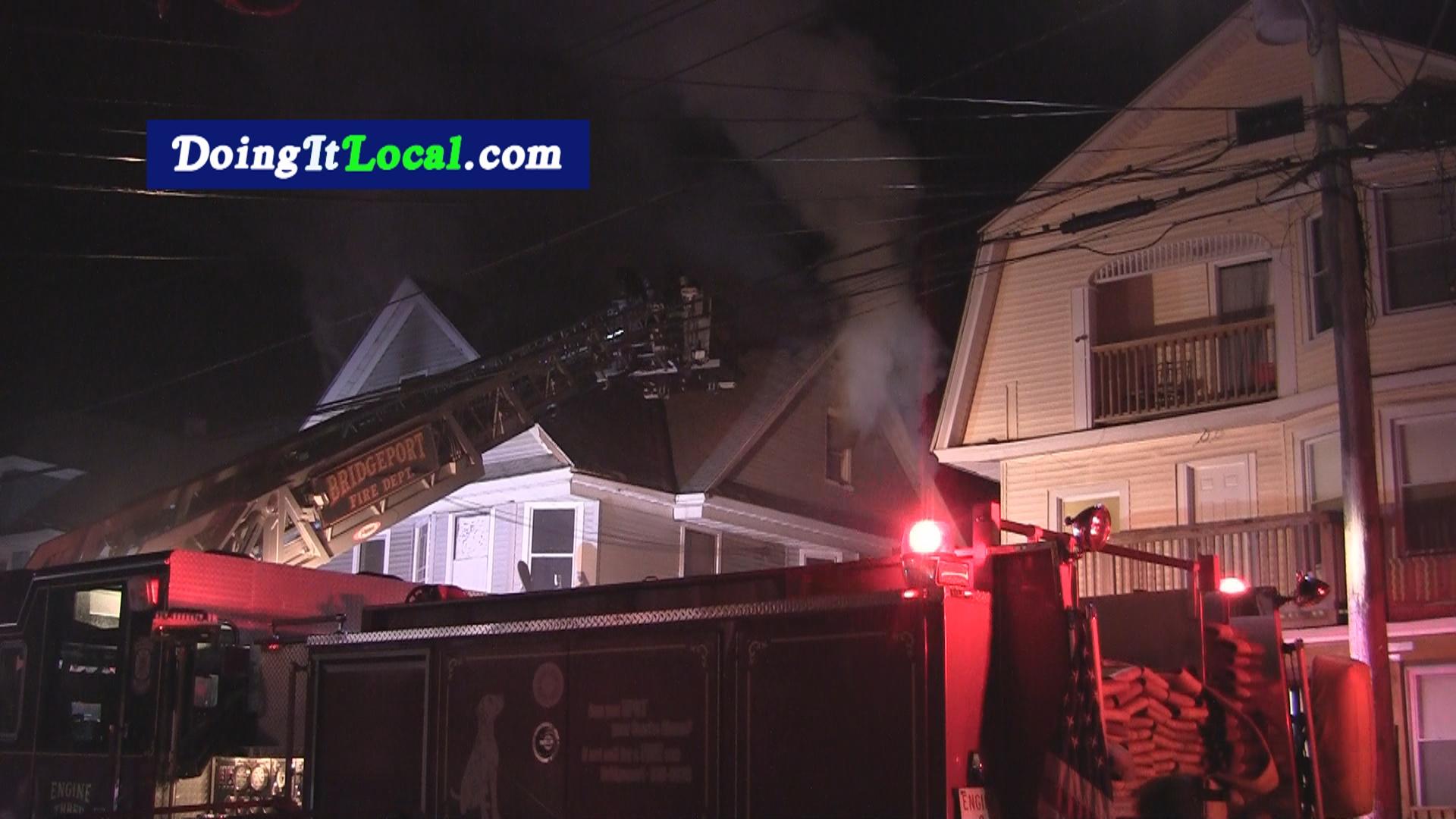 Bridgeport News: House Fire