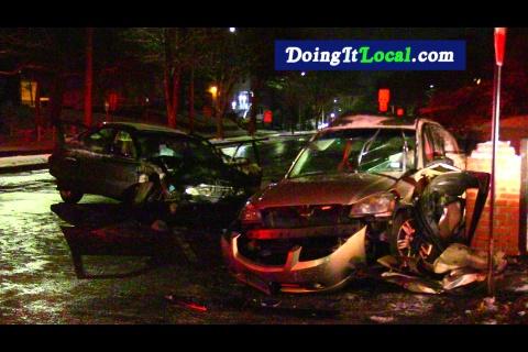 Bridgeport News: Crash- Fire and Heroism