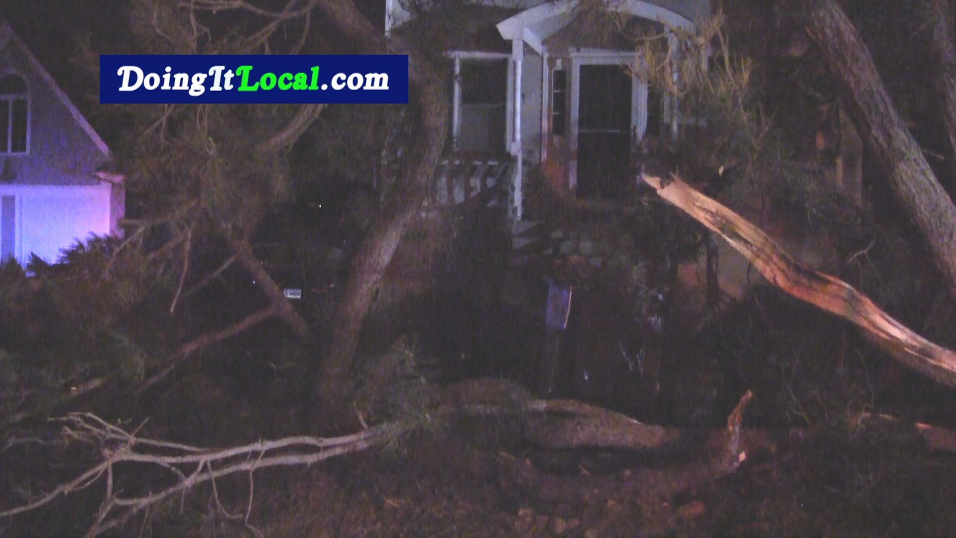 Fairfield Beach Car Crash Into House