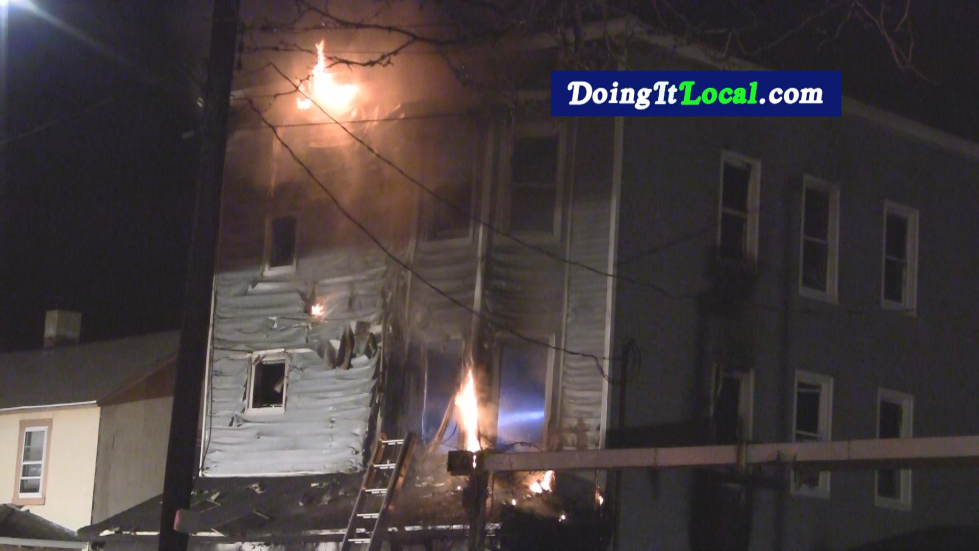 Bridgeport News: Fire On Union Avenue