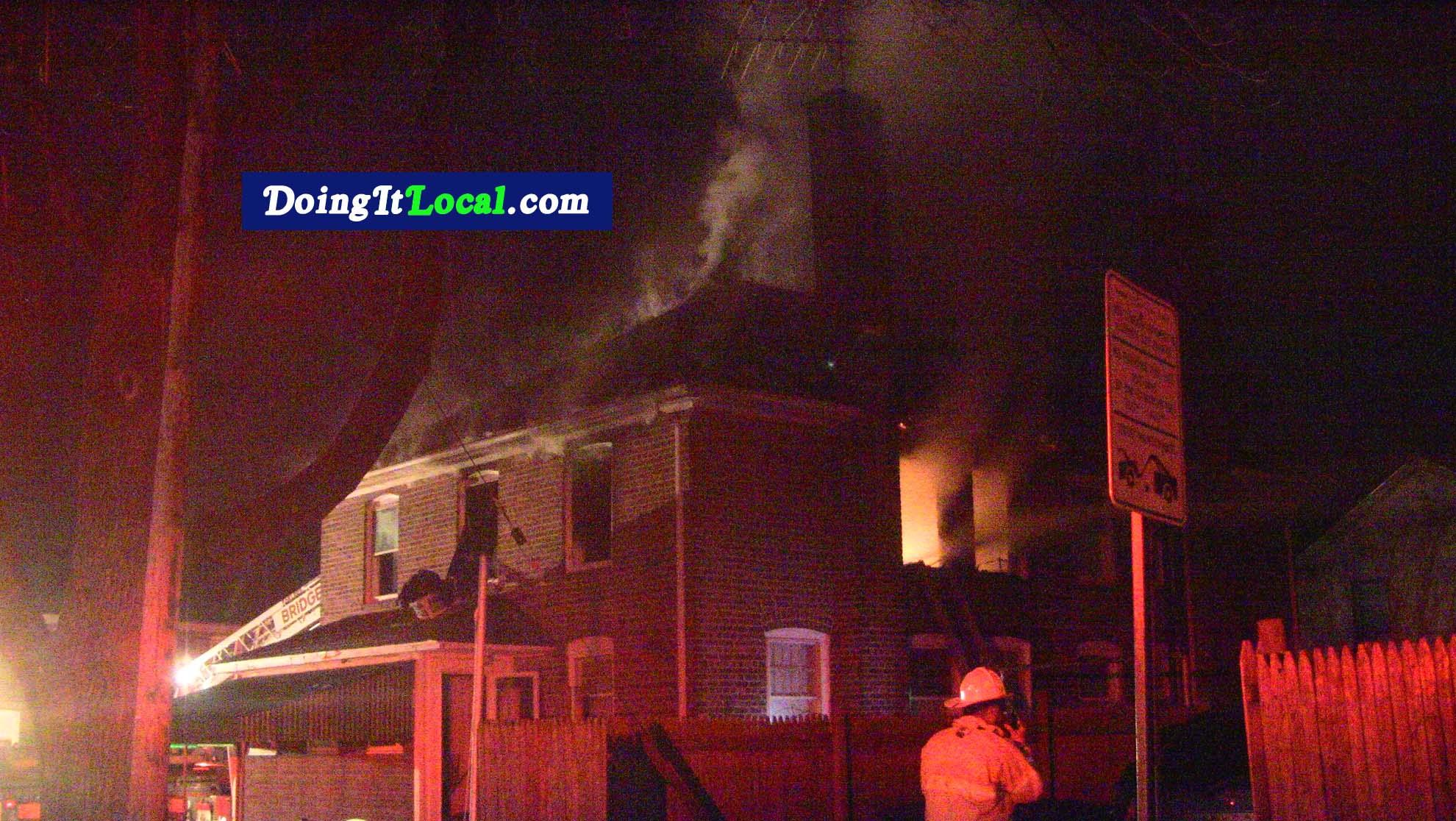 House Fire 57 Carver Street Bridgeport CT