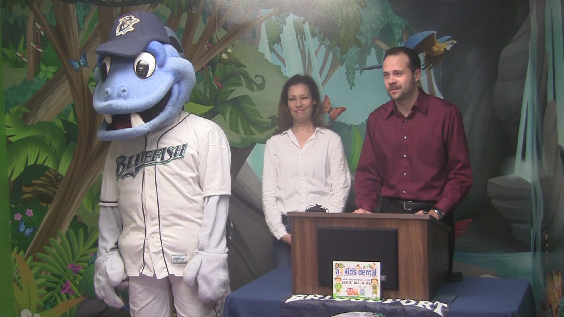 bluefish announce kids run the ballpark day presented