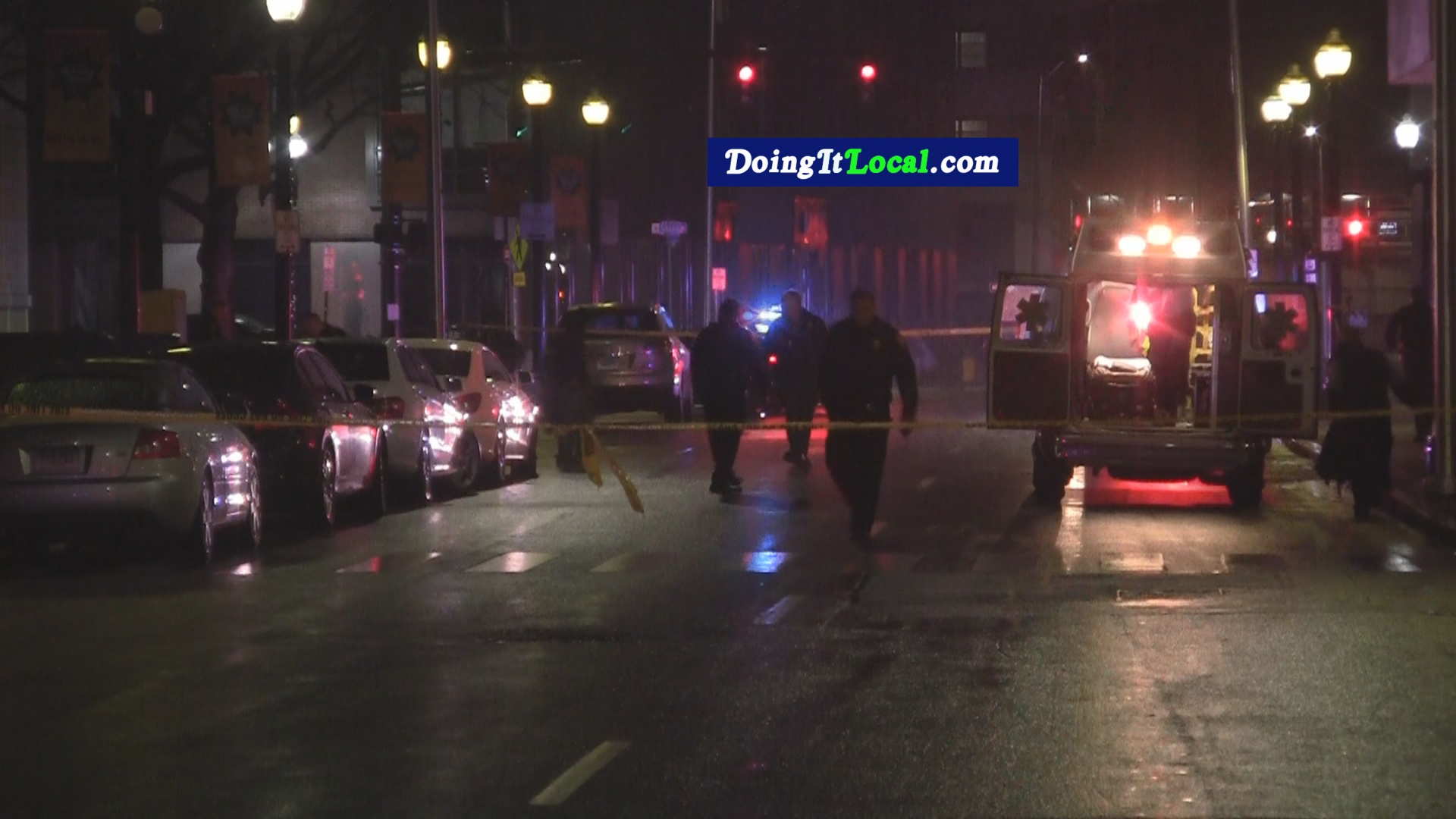 Bridgeport News: Main Shot Outside McLevy Green