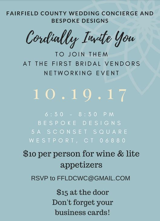 Fairfield County Bridal Vendors