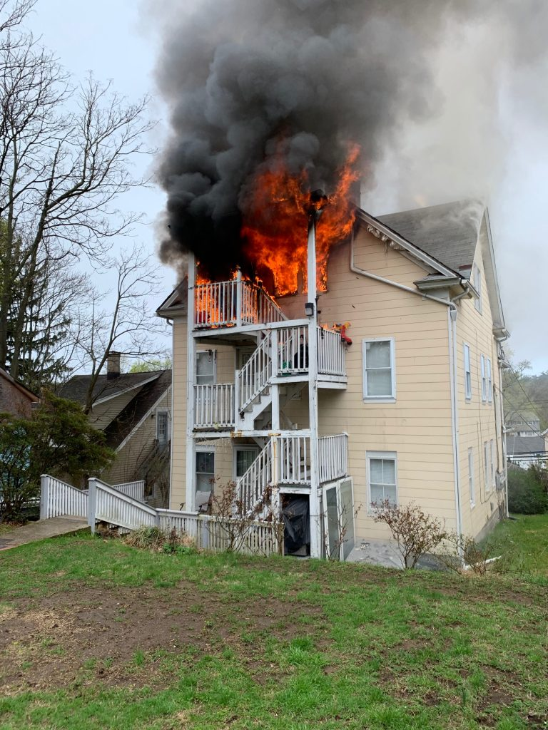 Norwalk News: Easter Morning Fire - DoingItLocal