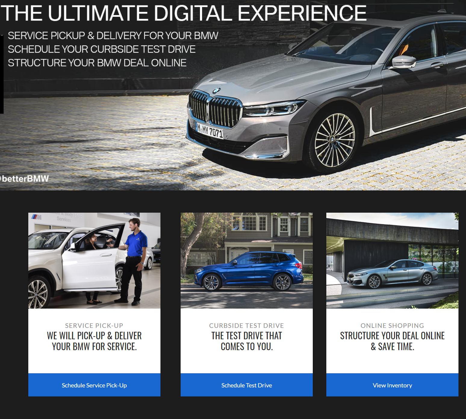 BMW of Bridgeport Digital Experience